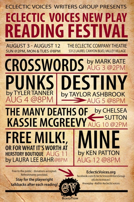 ev reading fest poster
