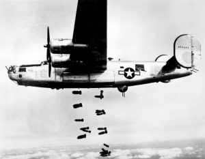 B-24 over Germany